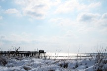 Snow Dunes III: Return of the Ocean