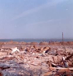 """""""Somewhere on the inlet. Completely demolished."""" Jim Thatcher"""