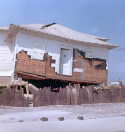 """Stone Harbor Beach Patrol shack at 96th St."" - Jim Thatcher"