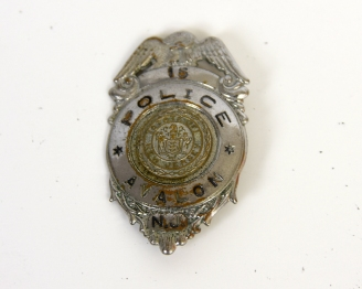 AVALON POLICE BADGE