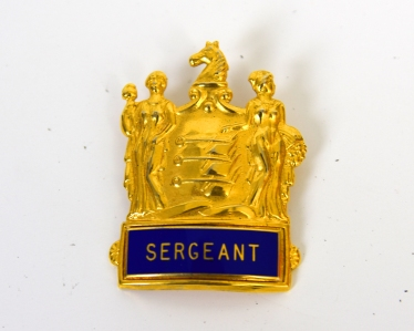 AVALON POLICE SERGEANT BADGE