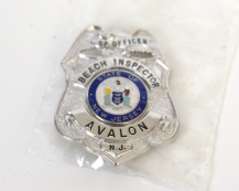 AVALON POLICE BEACH INSPECTOR BADGE