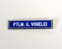 AVALON POLICE NAMETAG