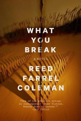 What You Break by Reed Farrel Coleman.jpg