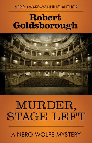 Murder, Stage Left by Robert Goldsborough.jpg