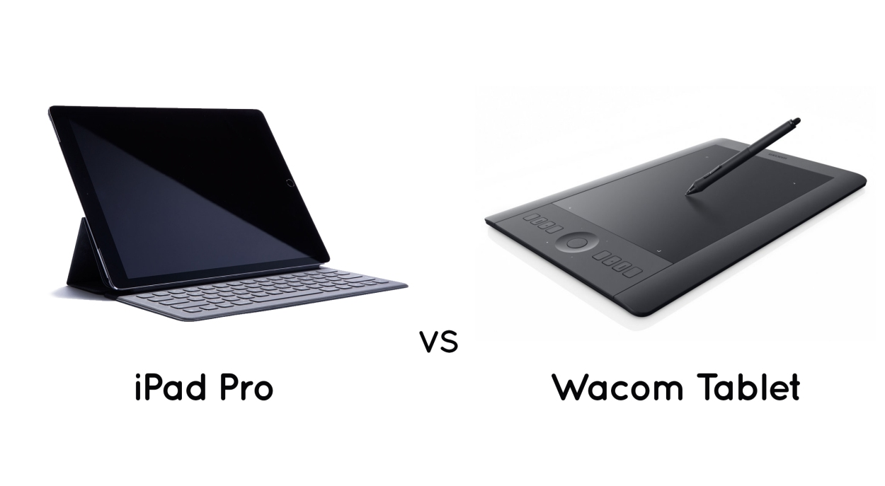 Ipad Pro Vs Wacom Tablet For Digital Drawing Afpl Blog